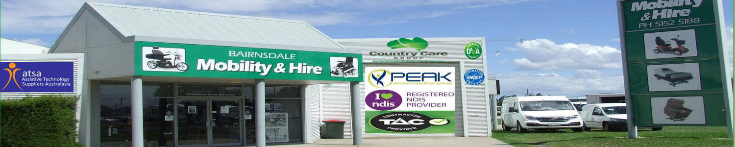 Bairnsdale Mobility with Atsa Signage